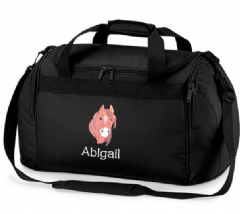 Personalised HORSE Bag Mini Holdall  BG200
